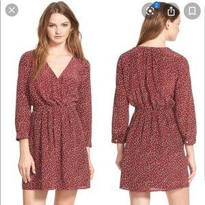 Madewell Kali Polka Dot Dress- Size 0